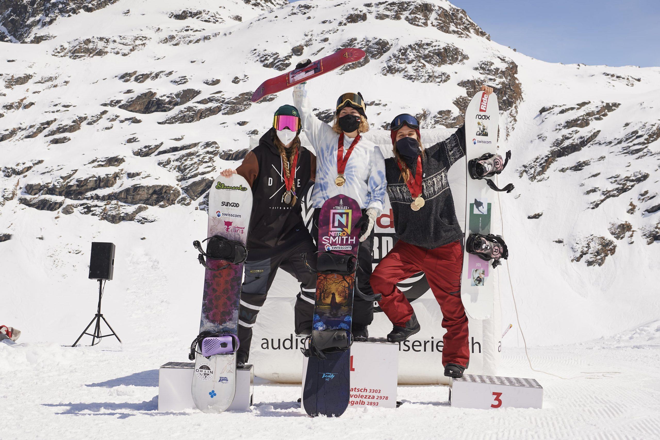 Ariane, Burri, Schweizermeisterin, Slopestyle, Snowboard, Freestyle